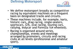 MBA Motorsport all'Universitàdi Pisa
