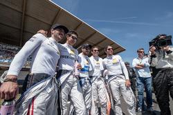 Maximilian Götz, Mercedes-AMG Team HWA, Mercedes-AMG C63 DTM, Esteban Ocon (FRA) Mercedes-AMG Team A