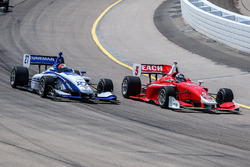 Dean Stoneman, Andretti Autosport; Zach Veach, Belardi Auto Racing
