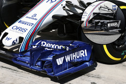 L'aileroon avant de la Williams FW38