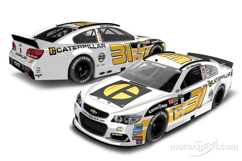 Throwback-Design von Ryan Newman, Richard Childress Racing, Chevrolet