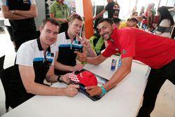 Фредерик Экблом, Polestar Cyan Racing и Тед Бьорк, Polestar Cyan Racing