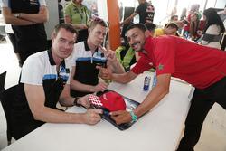 Fredrik Ekblom, Polestar Cyan Racing and Thed Björk, Polestar Cyan Racing