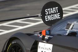 Acción del pit, comienzo del motor