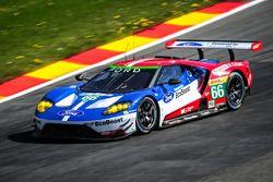 #66 Ford Chip Ganassi Racing Team UK, Ford GT: Olivier Pla, Stefan Mücke, Billy Johnson