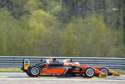 Mike David Ortmann, Mücke Motorsport and Joseph Mawson, Van Amersfoort Racing