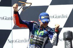 Podium : Jorge Lorenzo, Yamaha Factory Racing, troisième