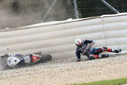 Loris Baz, Avintia Racing accidente
