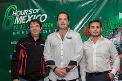 Izq. a der. Luis Díaz, Greaves Motorsport, Ricardo González, RGR Sport by Morand, Jorge y Alfonso To
