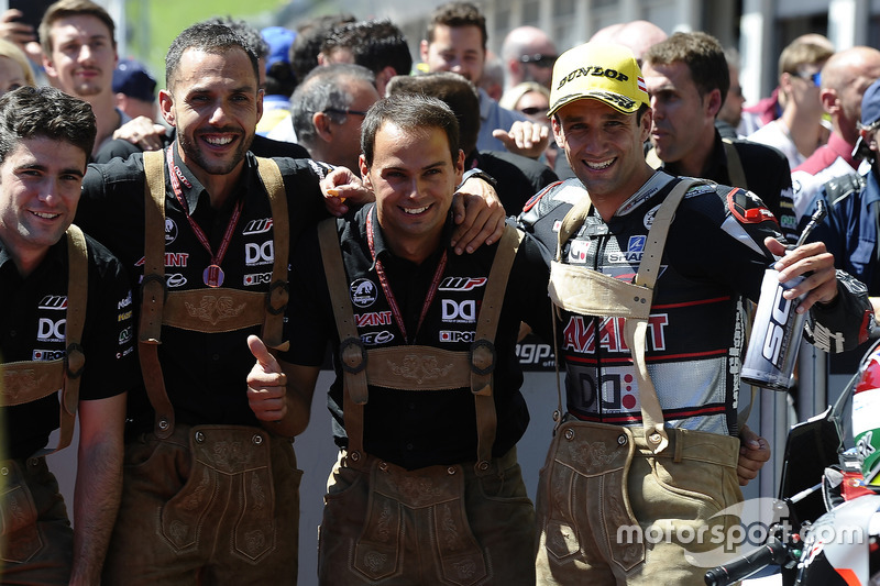 Il vincitore della gara Johann Zarco, Ajo Motorsport