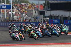 Partenza: Enea Bastianini, Gresini Racing Team Moto3 leads