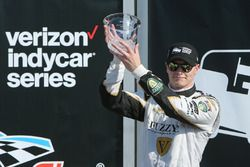 Second place Josef Newgarden, Ed Carpenter Racing Chevrolet
