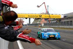 Race winner Edoardo Mortara, Audi Sport Team Abt Sportsline, Audi RS 5 DTM