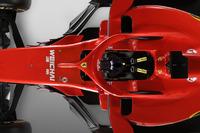 Ferrari SF71H, dettaglio dell'halo
