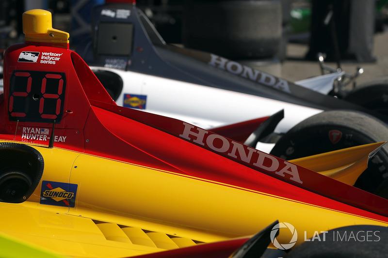 Автомобили Andretti Autosport Honda: Райан Хантер-Рей и Марко Андретти
