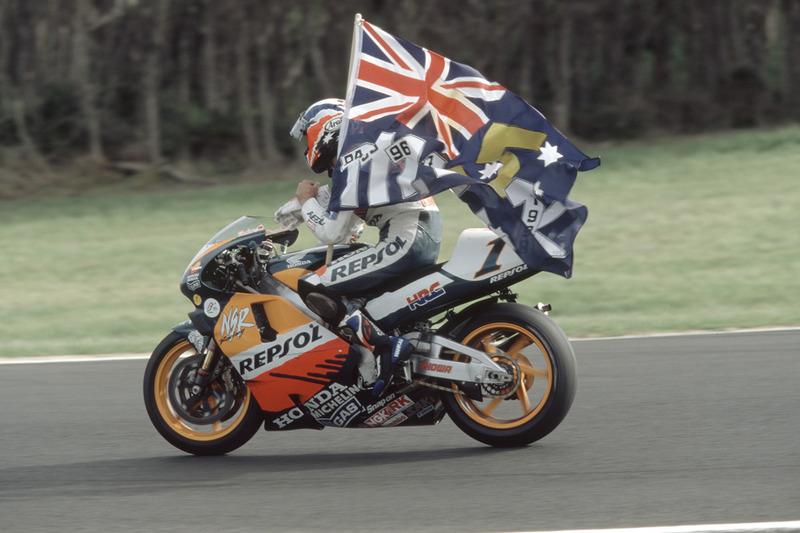 Mick Doohan, campeón del mundo de 500cc 1998