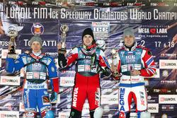 Подиум: Дмитрий Хомицевич, Дмитрий Колтаков и Даниил Иванов