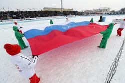 Стадион в Шадринске
