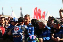 Le poleman Alex Lowes, Pata Yamaha