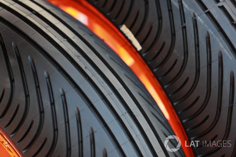 Michelin rain tyres