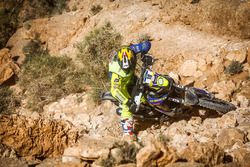 #18 Sherco: Diego Martin Duplessis falls down