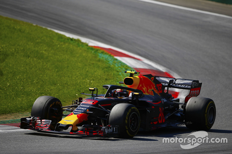 2018: Max Verstappen, Red Bull Racing RB14