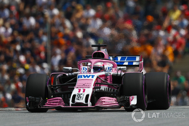 15. Серхио Перес, Sahara Force India F1 VJM11