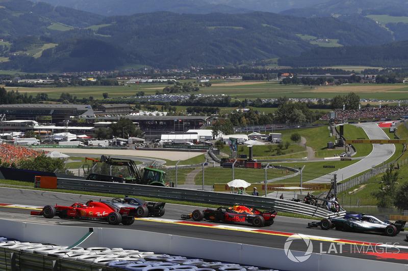 Aksi balapan F1