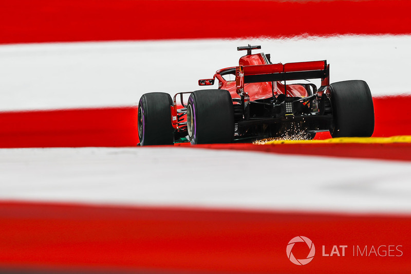 Гран При Австрии: блокировка Сайнса в квалификации