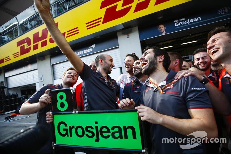 Гран При Австрии: Грожан восстает из пепла, Haas делает «дубль»