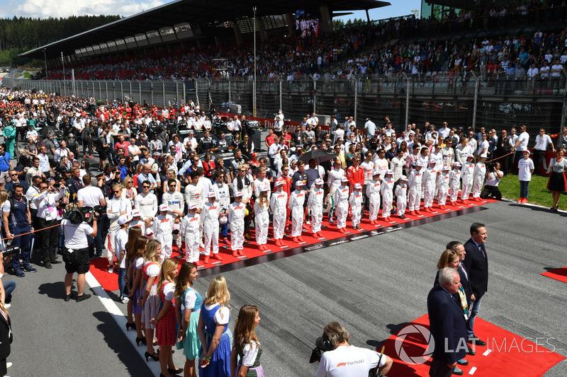 A kulisszák mögött - rajtrács - Osztrák Nagydíj - F1 2018