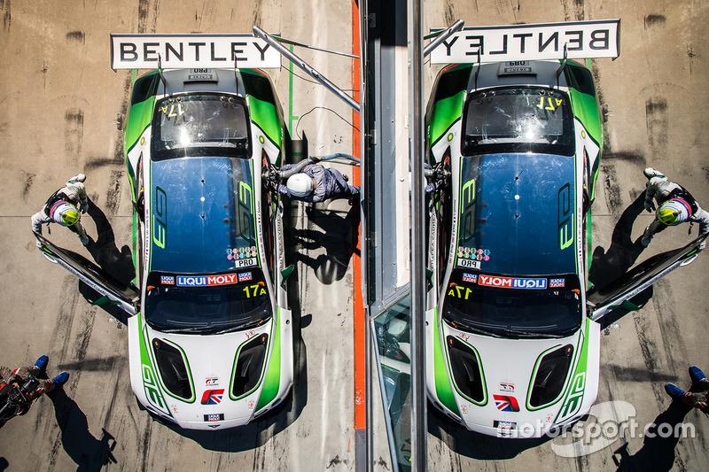 Pitstop #17 Bentley Team M-Sport Bentley Continental GT3