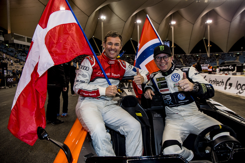 Tom Kristensen and Petter Solberg of Team Nordic