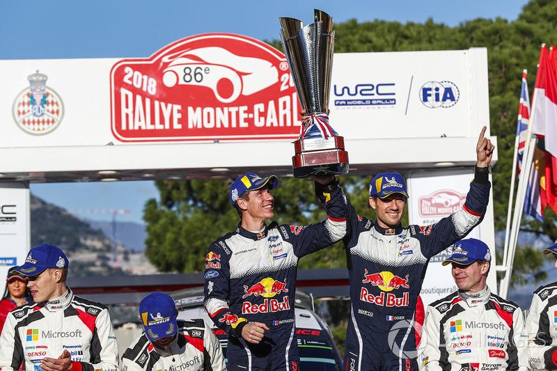 I vincitori Sébastien Ogier, Julien Ingrassia, Ford Fiesta WRC, M-Sport Ford