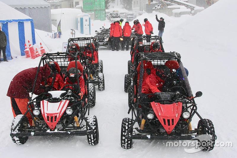 Entrenamiento Ferrari Driver Academy