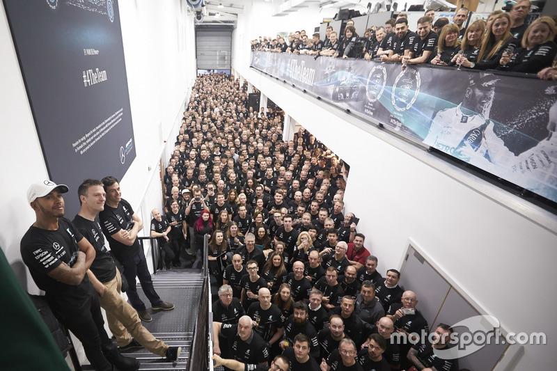 Lewis Hamilton, Mercedes AMG F1, Toto Wolff, directeur Mercedes AMG F1