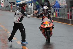 Deuxième place pour Niccolo Antonelli, Red Bull KTM Ajo
