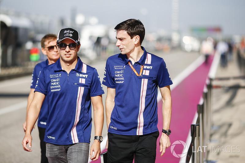 9 місце - Серхіо Перес, Force India