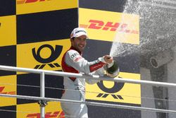 Podio: Mike Rockenfeller, Audi Sport Team Phoenix