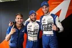 LMP2 pole sitters #36 Signatech Alpine Matmut Alpine A470: Nicolas Lapierre, Andre Negrao, Pierre Thiriet