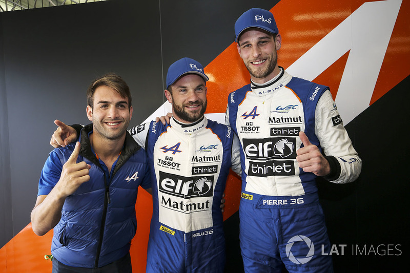 Campeonato del Mundo de Resistencia WEC, pilotos (categoría LMP2): Nicolas Lapierre, Andre Negrao, Pierre Thiriet