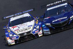 #1 KeePer TOM'S LC500と#17 KEIHIN NSX-GT