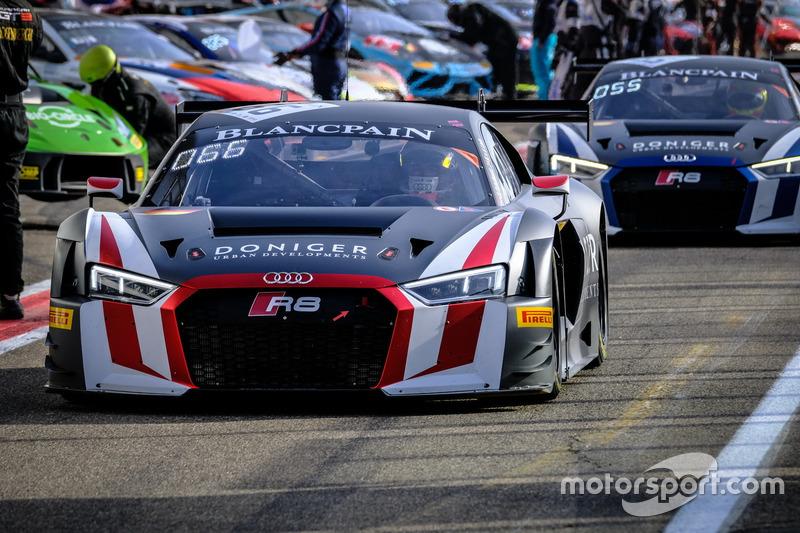 #66 Attempto Racing Audi R8 LMS: Pieter Schothorst, Pierre Kaffer