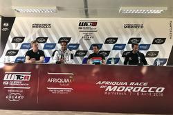 Thed Björk, YMR Hyundai i30 N TCR, Mehdi Bennani, Sébastien Loeb Racing Volkswagen Golf GTI TCR, Jea