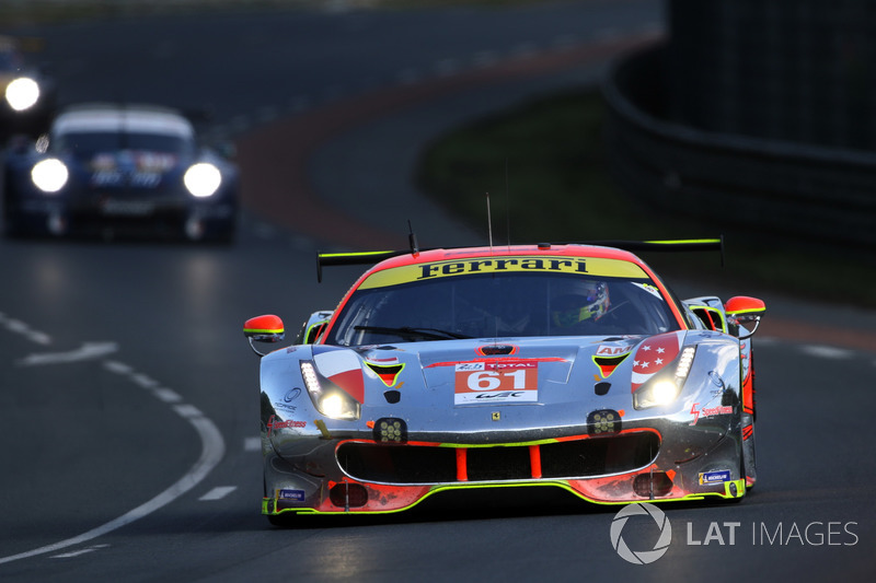 8. LMGTE-Am: #61 Clearwater Racing, Ferrari 488 GTE