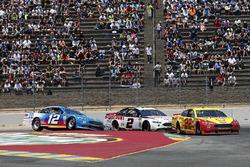 Brad Keselowski, Team Penske, Ford Fusion Discount Tire Ryan Blaney, Team Penske, Ford Fusion PPG