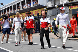 Josef Leberer, preparatore Sauber e Charles Leclerc, Sauber