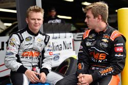 Dalton Sargeant, GMS Racing, Chevrolet Silverado Performance Plus Motor Oil and Justin Haley, GMS Racing, Chevrolet Silverado Fraternal Order Of Eagles
