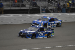 Martin Truex Jr., Furniture Row Racing, Toyota Camry Auto-Owners Insurance and Ricky Stenhouse Jr.,