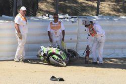 Toprak Razgatlioglu, Kawasaki Puccetti Racing kaza